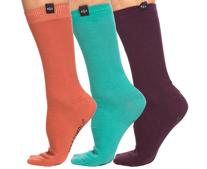 Mossimo Pique Crew Socks 3-Pack 5M4502 Multi