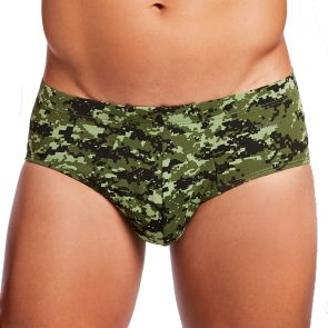 2xist Graphic Cotton Bikini Brief 45732 Digi Camo