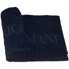 Emporio Armani Loungewear Towel 110800 7A591 Marine