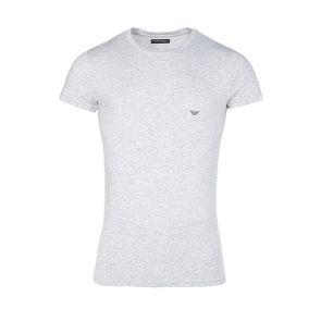 Emporio Armani Crew Neck T-Shirt 111035 Grey Marle