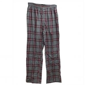 Emporio Armani Woven Sleep Pants 111043 3P576 03148 Grey Tartan