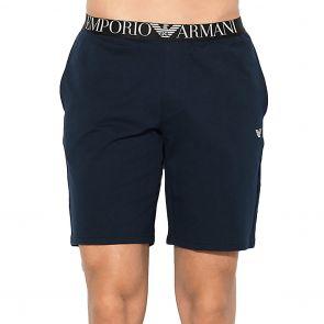 Emporio Armani Knit Bermuda Shorts 111329 7P571 Navy