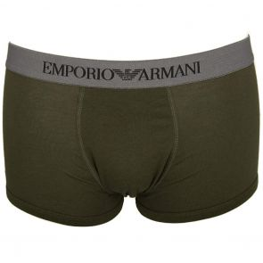 Emporio Armani Boxer Brief 2-Pack 111613 7A722 Black and Military