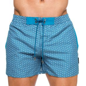 Teamm8 Pier Swim Shorts TSPRSS Teal