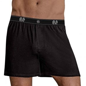 Male Power Bamboo Boxer 160-253 Black