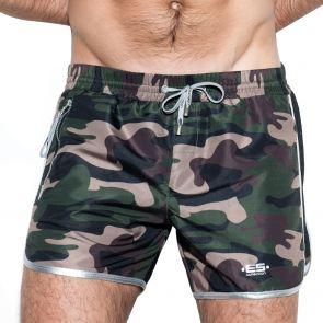 ES Collection Marvin Camo Bermuda Swim Short 1813 Camouflage