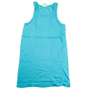 CIN2 Pop Colour Square Neck Tank Top 1827 River Teal