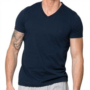 Coast Short Sleeve Essential Tee 18CCC403 Navy