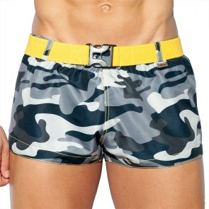 ES Collection Belt Swim Short 2026 Camouflage 17 MOD