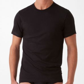 2xist Essentials Crew Neck T-Shirt 3 Pack 20334 Black