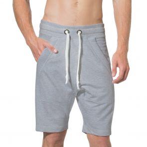 LEVEL Frankie Unisex Shorts L1018 Grey Marle