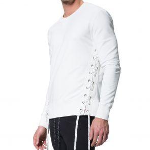 LEVEL Storm Unisex Sweatshirt L2118 Chalk White