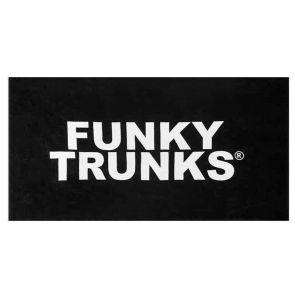 Funky Trunks Mens Sports Towel Still Black FT90