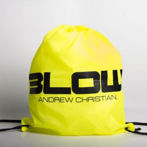 Andrew Christian Blow String Backpack 8202 Yellow