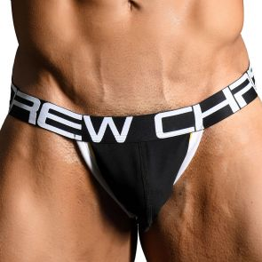 Andrew Christian Show-It Retro Pop Jock 91155 Black