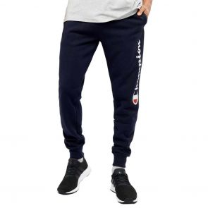 Champion Script Cuff Track Pant A1882H Navy