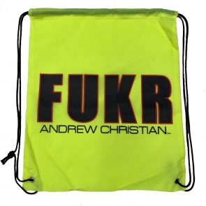 Andrew Christian FUKR String Backpack 8999 Yellow