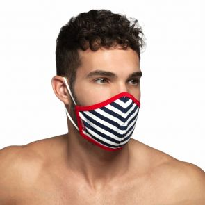 ES Collection Sailor Face Mask AC103 Red