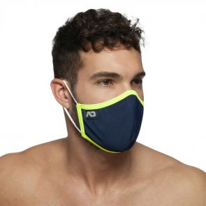 Addicted Spider Face Mask AC106 Navy