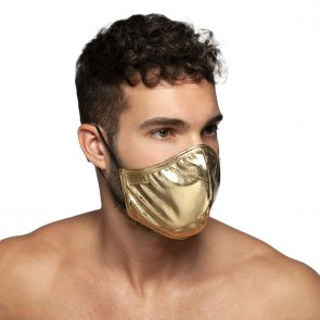 ES Collection Party Face Mask AC107 Gold