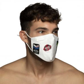 ES Collection Jeans Shield Face Mask AC126 White