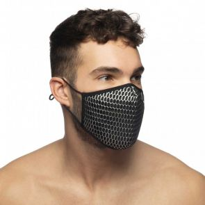 Addicted AD Party Face Mask AC137 Black