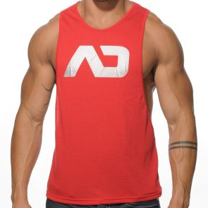 Addicted AD Low Rider Tank Top AD043 Red