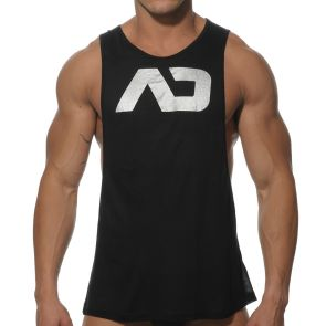 Addicted AD Low Rider Tank Top AD043 Black