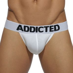 Addicted My Basic Jock AD469 White