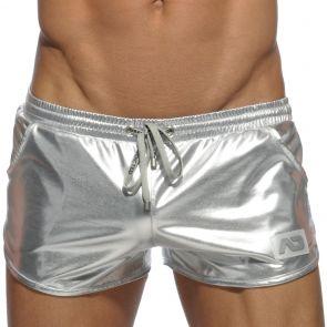 Addicted Metallic Short AD562 Silver