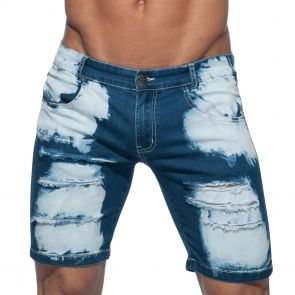 Addicted Holes Short Jeans AD638 Navy