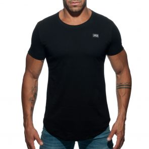 Addicted Basic U-Neck T-Shirt AD696 Black