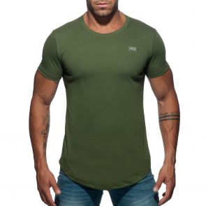 Addicted Basic U-Neck T-Shirt AD696 Khaki