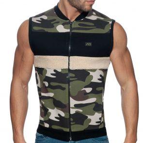 Addicted Camo Combi Vest AD782 Camouflage