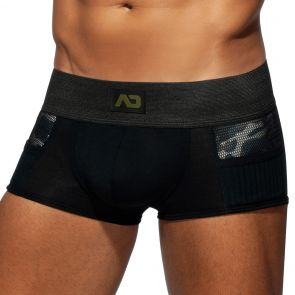 Addicted Army Combi Trunk AD784 Black