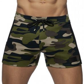 Addicted Pocket Sport Shorts AD941 Camouflage