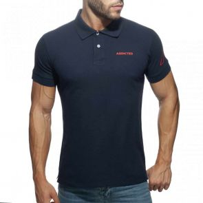 Addicted AD Polo Shirt AD961 Navy