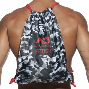 Addicted AD Fetish Camo Backpack ADF90 Multi