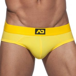 Addicted Fetish Basic Colours Brief ADF95 Yellow