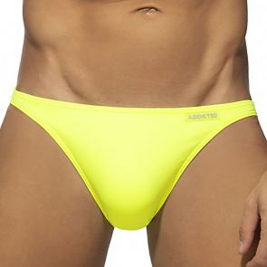 Addicted Mini Swim Bikini ADS245 Neon Yellow