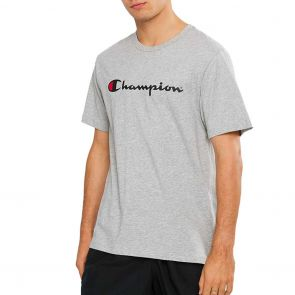 Champion Script Short Sleeve Tee AXQPN Grey