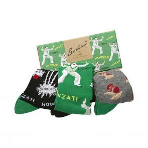 Bamboozld Mens Cricket Gift Box 3-Pack BBS18GBCRICKET Assorted