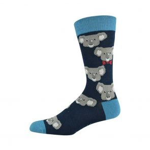 Bamboozld Mens Koala Sock BBS18KOALA Navy