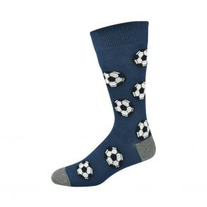 Bamboozld Mens Soccer Sock BBS19SOCCER Navy