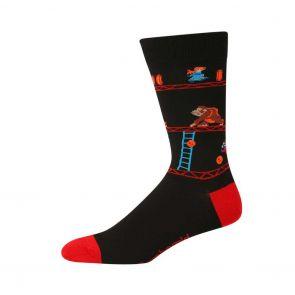 Bamboozld Mens Kong Socks BBS20KONG Black