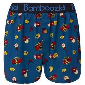Bamboozld Angry Birds Boom Boxer Short BBUS21BSBOOM Blue