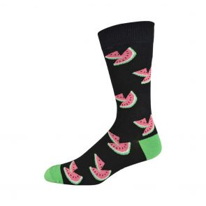 Bamboozld Mens Melon Sock BBW19MELON Black