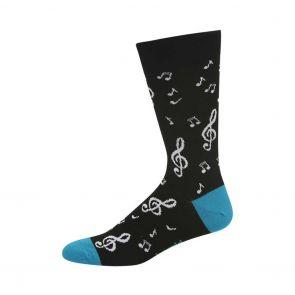 Bamboozld Mens Beethoven Sock BBW20BEETHOVEN Black