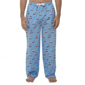 Bamboozld Jack Russell Bamboo Sleep Pants BBW21SPJACKRUSSPANT Blue