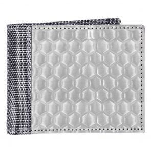 Stewart Stand Stainless Steel Bifold Wallet BF6301 Silver Hive